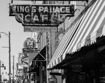 Memphis Music Beale Street Kings Palace Cafe P1098