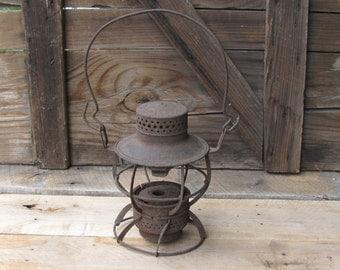 railroad lantern Dressel Pennsylvania railroad antique
