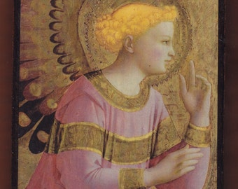 Fra Angelico(1450/1455),Annunciatory Angel.FREE SHIPPING
