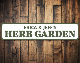 herb garden signs etsy