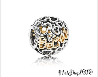 FREE SHIPPING Authentic Disney Believe Charm 791436 #037