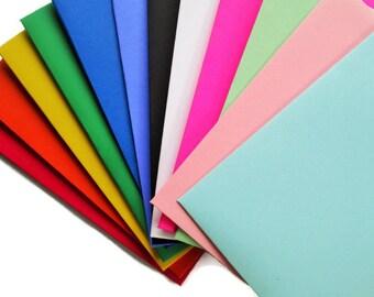 Gift Card Envelopes, Mini Envelopes, Small Envelopes, Gift Card Sleeves, Gift Card Holder, Hand Made You Pick Color