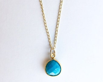 Surf's Up Necklace - Summer Jewelry - Wedding Jewelry - Something Blue - Bridal Shower