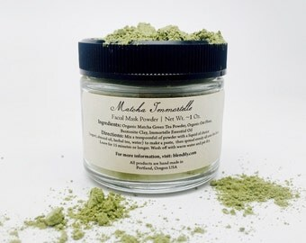 Matcha Immortelle Facial Mask