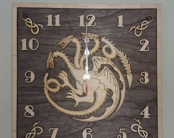 Targaryen House Clock