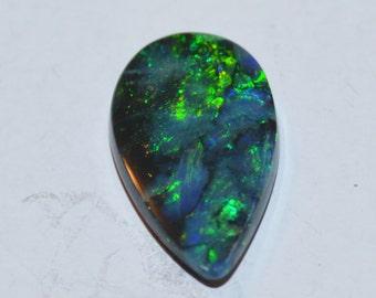 Solid Natural Black Opal 1.77 CT