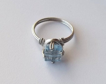 Icy Blue Ring