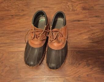 Vintage LL Bean Ankle Boots Women's Size 8 Men's size 6 1/2