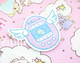 Tamagotchi Angel Pin