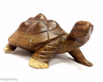 Turtle hand carved