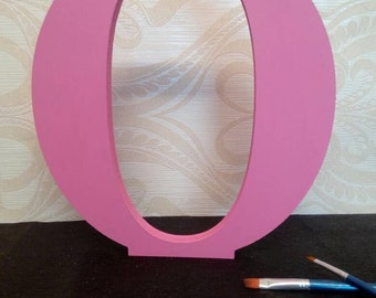 LARGE freestanding letters, hand painted wooden letters 30cm