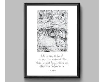 Digital Print - Peter Pan - Life Is Easy