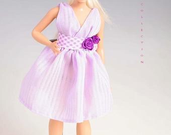 Barbie clothes for curvy barbie, Handmade barbie dress