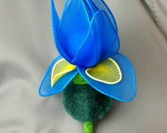 sale iris iris flower broochiris flower nylon flower