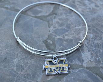 University of Michigan Expandable U of M Wolverines Bracelet