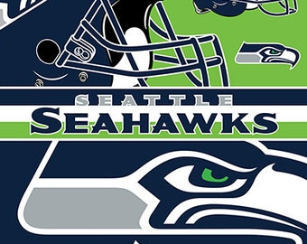 Seattle Seahawks Beach Towel For 2 54x68