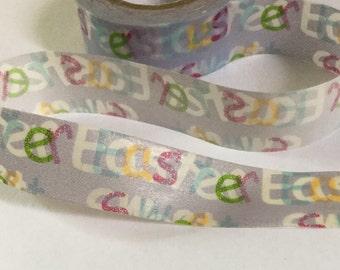 Sweet Easter Washi Tape | Sweet Easter Grey Decorative Tape | Sweet Easter Masking Tape | Japan Masking Tape 10m J18