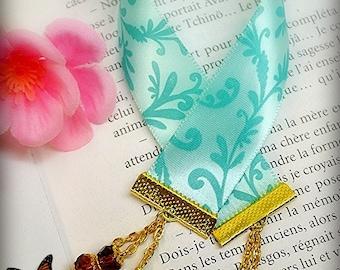 Beach crystal bookmark
