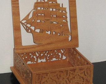 Ship Trinket Box
