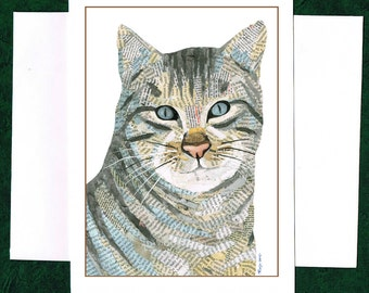 A Cat- Greeting Card
