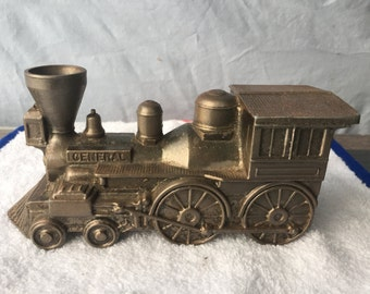 "Vintage Banthrico Coin Bank - Steam Train Engine ""the General""   (BTC27)"