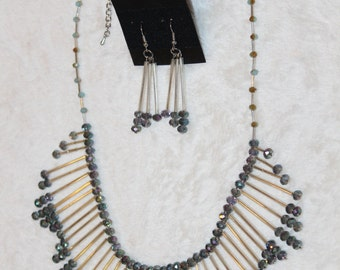 Unique Necklace and Earring set - Item No. 24