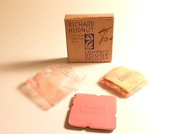 Boxed full rouge plate Richard Hudnut FUSCHINE rouge