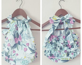 Ruffled Sunsuit