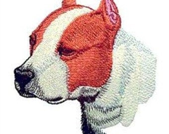 Pitbull Embroidery Design 4x4 hoop