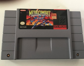 Metal Combat for Super Nintendo SNES