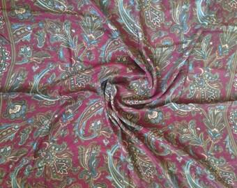 Echo Paisley Silk Scarf