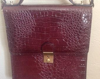 "Vintage 70""s Snakeskin Handbag"