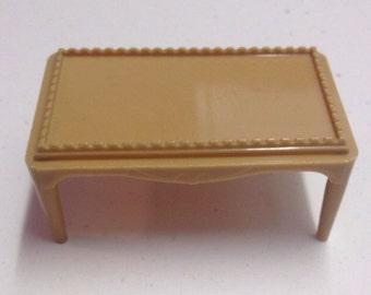 "Dollhouse Miniature Coffee Table-Vintage Renwal Dollhouse Furniture 3/4"""