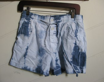 Vintage  Tie Dyed Shorts Small