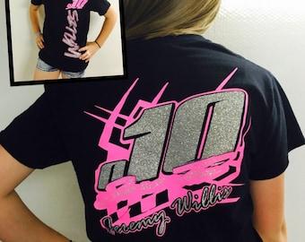 Racing Birthday Shirt,  Race Car Birthday Party