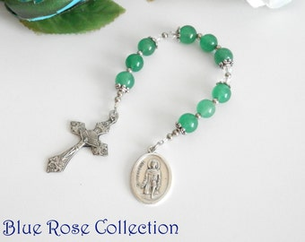 St. Peregrine chaplet, Catholic devotion, Catholic chaplet, Catholic gift, St. Peregrine patron saint for cancer patients, thoughtful gift