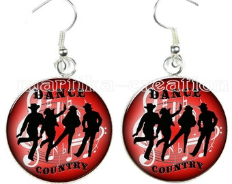 country dance earring