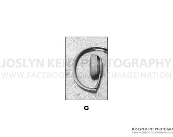 "Letter ""G"" - Alphabet Photography"
