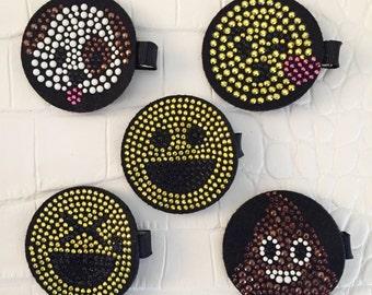 Emoji Hair Clip