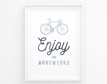 Bicycle Wall Art, Bicycle Print, Bike Poster, Bike Decal, Bike Print, Cycling Art, Bike Art Print, Bicycle, Bicycle Decor, Printable Art