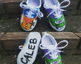 Toy Story theme shoes