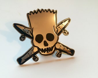 Bart x Fourstar Pin Badge