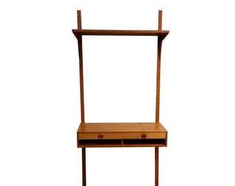 Midcentury Hansen Guldborg Furniture Floating Desk