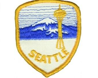 Seattle Patch - Mount Rainier, Washington (Iron on)