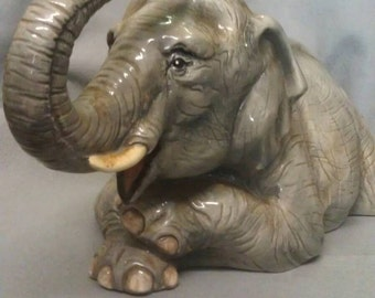 The Townsend's Porcelain Ceramic  Elephant Figurine