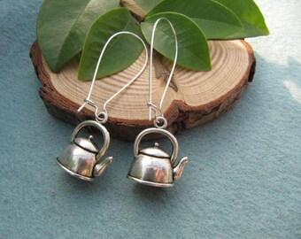 Teapot Tea Earrings