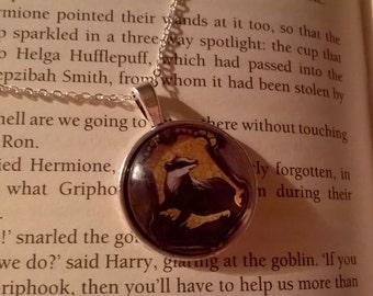 Harry Potter Hufflepuff necklace