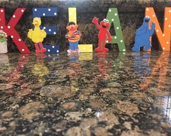 Sesame Street Letter or Number
