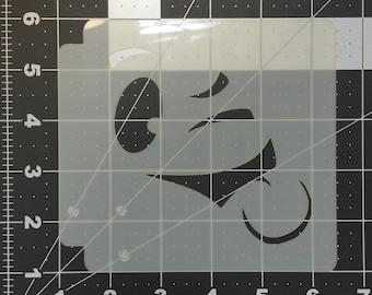 Face Expression Stencil 100