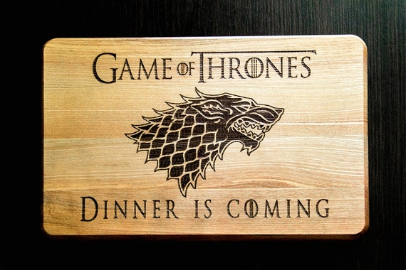 Game of thrones mens gift cutting board games by for Game of thrones gifts for men